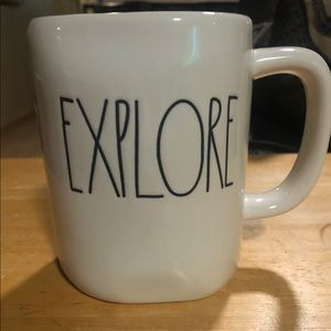 "Rae Dunn New mug ""EXPLORE"""